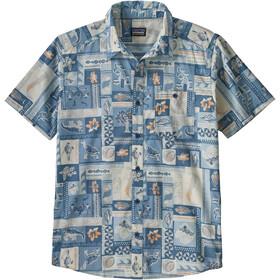 Patagonia Go To T-shirt Homme, galapagos archipelagos/hawthorne blue